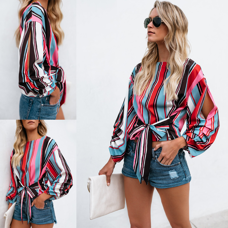 0d625b00dbb03 Details about Summer Womens Casual Tops Blouse Short Sleeve Crew Neck  Floral T-Shirt Ladies