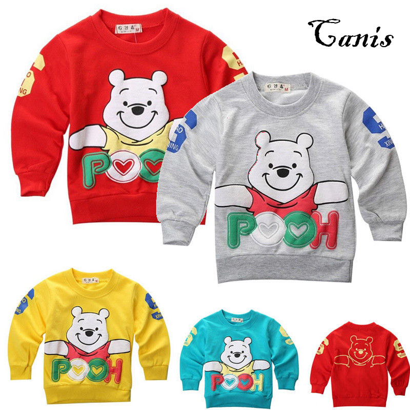 26fbaa85f564 US Newborn Baby Boy Girl Coat Cute Winnie Warm Long Sleeve Cotton ...