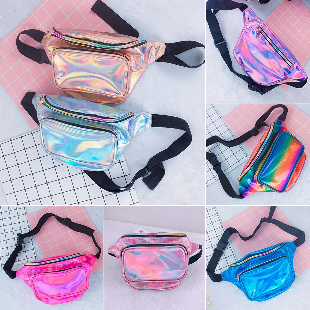 Details about Reversible Mermaid Sequin Glitter Waist Fanny Pack Belt Bum  Bag Pouch Hip Purse 09061b0e002e