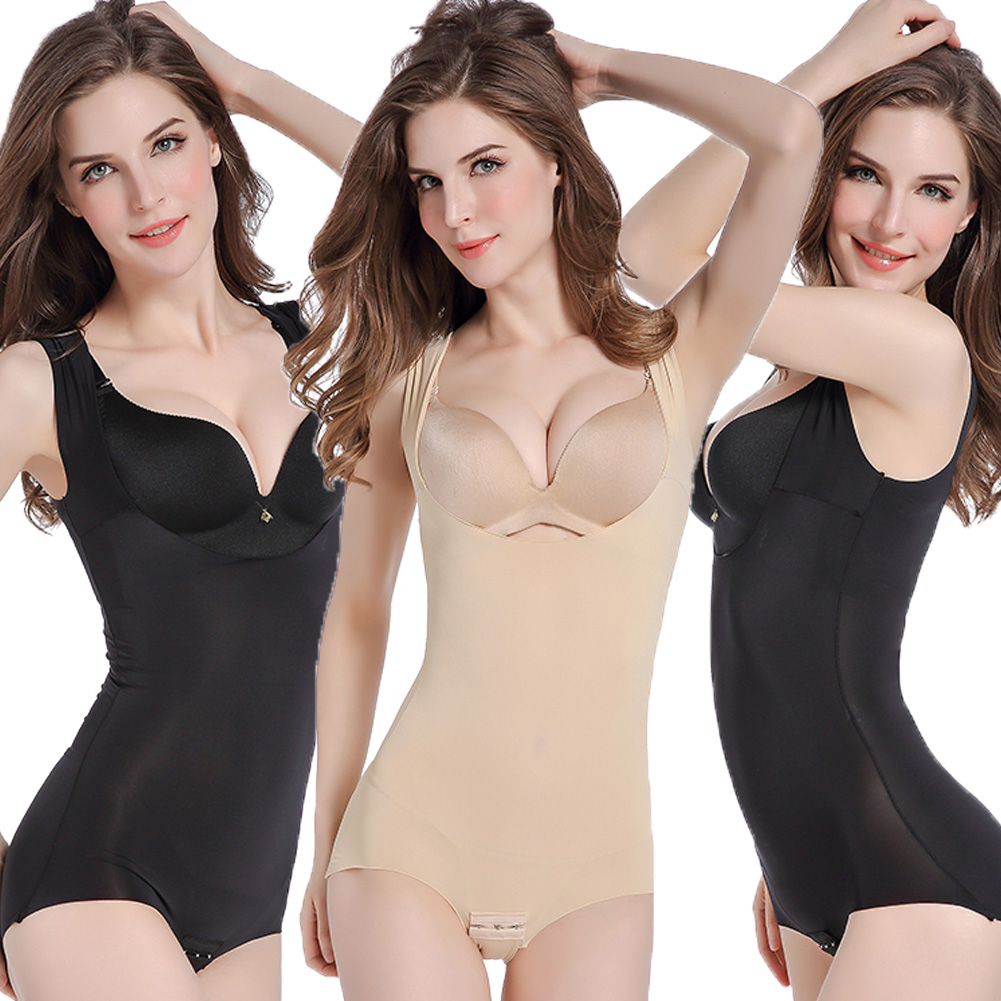 65455c62e5 Details about Thermo Women Bodysuit Shapewear Full Body Shaper Weight Loss  Sauna Suit slimming