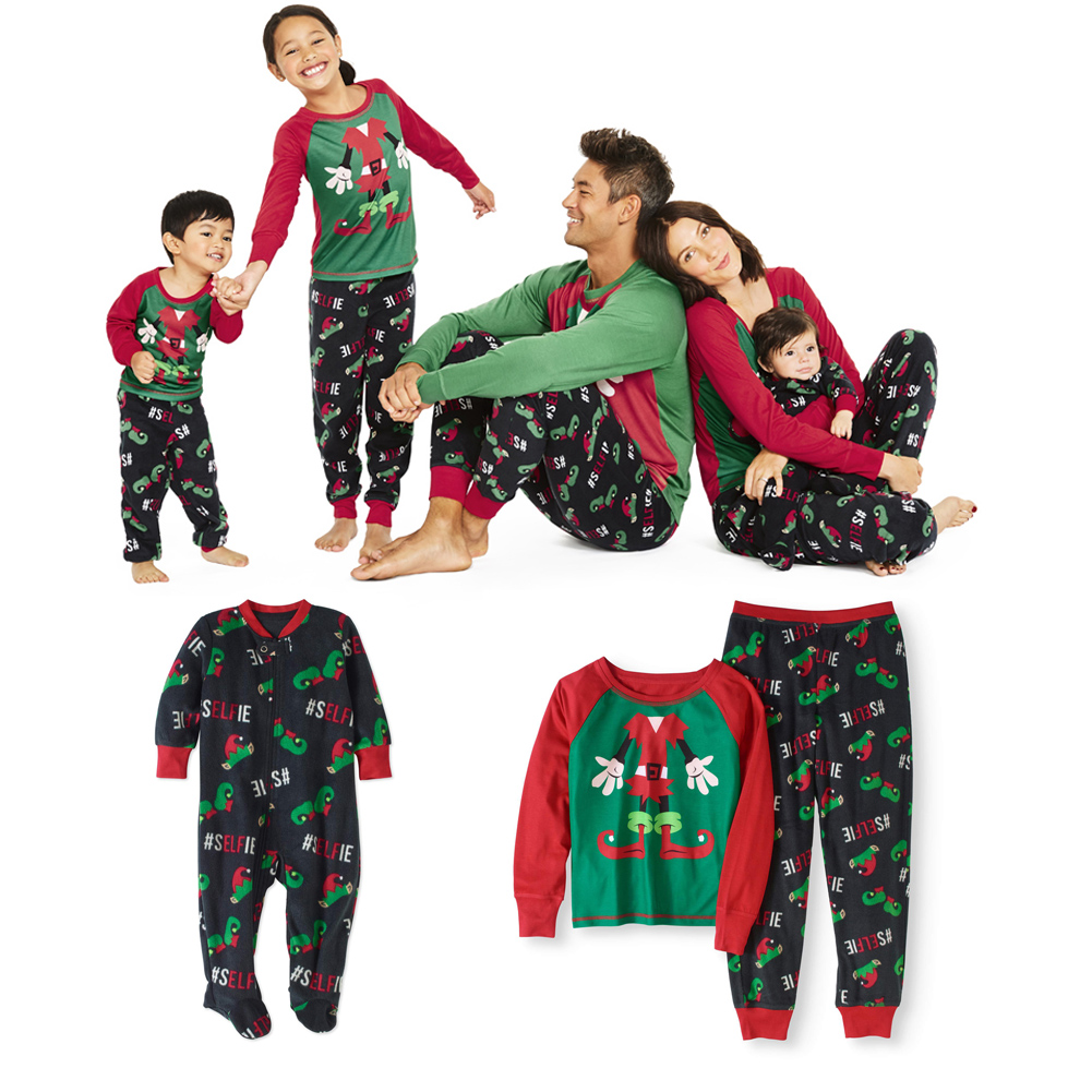 ce169c486f Details about Family Matching Christmas Pajamas Set Men s Women Baby Kids  Sleepwear Nightwear