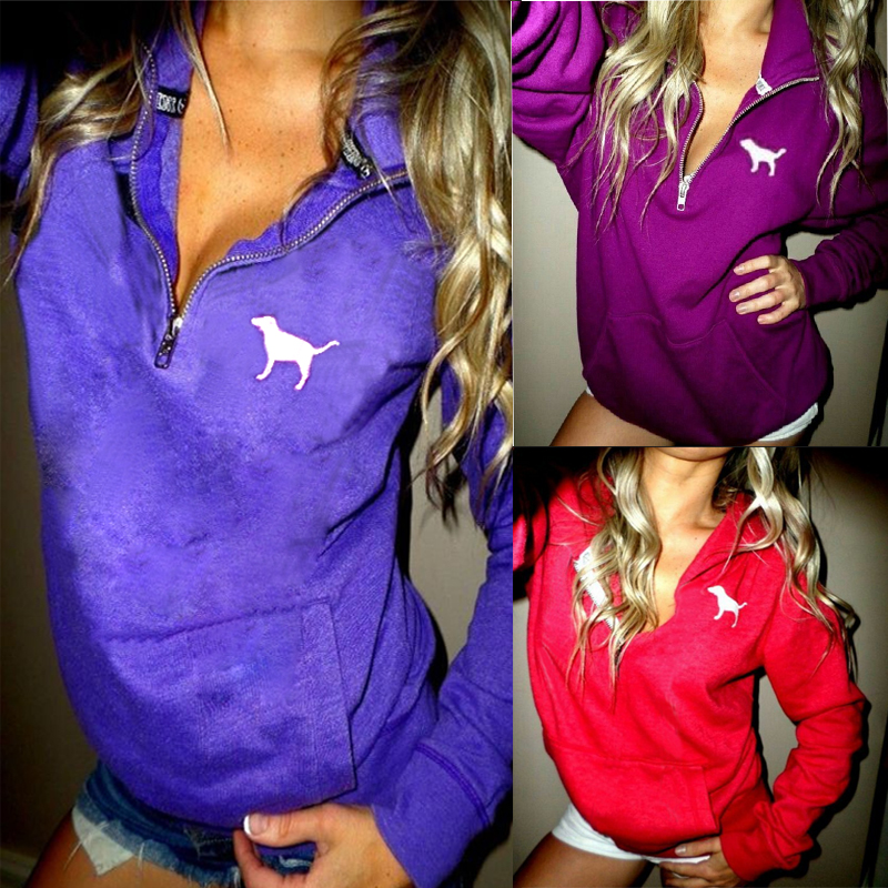 Women Hoodie Sweatshirt Hooded Coat Tops Long Sleeve Blouse Activewear Autumn