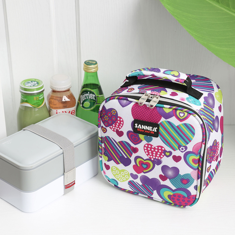 Lunch Bag Insulated Cooler Picnic Storage Box For Work Men
