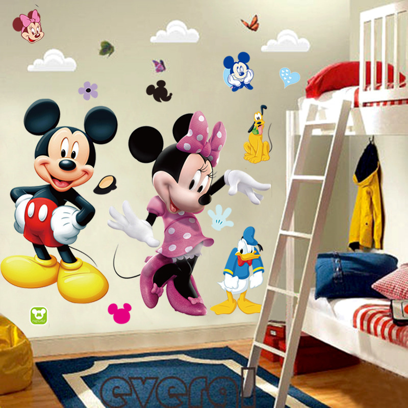 Store Categories & Mickey Mouse Minnie Vinyl Mural Wall Sticker Decals Kids Nursery ...