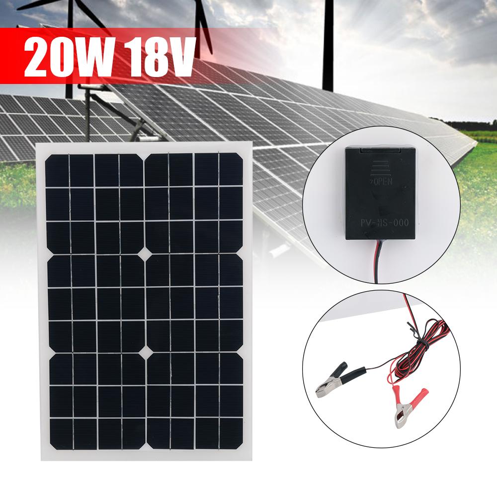 20w 18v solar ladeger t beweglicher handy solar panel. Black Bedroom Furniture Sets. Home Design Ideas