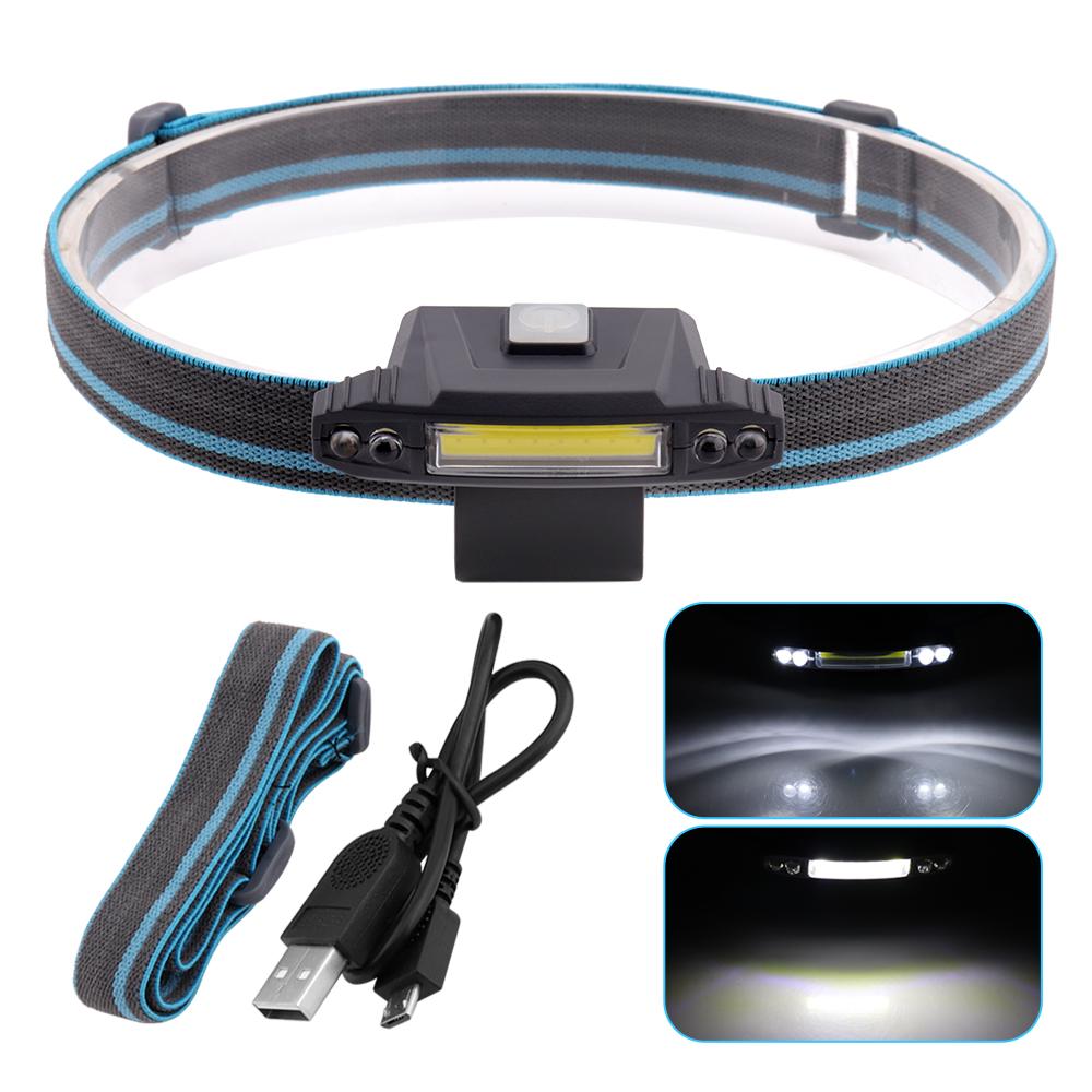 1 cob 4 f5 5led stirnlampe laufen taschenlampe kopflampe. Black Bedroom Furniture Sets. Home Design Ideas
