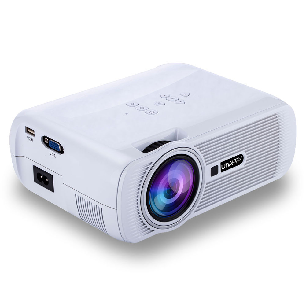3800lumens 1080p Hd Led Projector Home Cinema Theater: 7000 Lumens 1080P HD LED Projector Mini 3D Home Theater