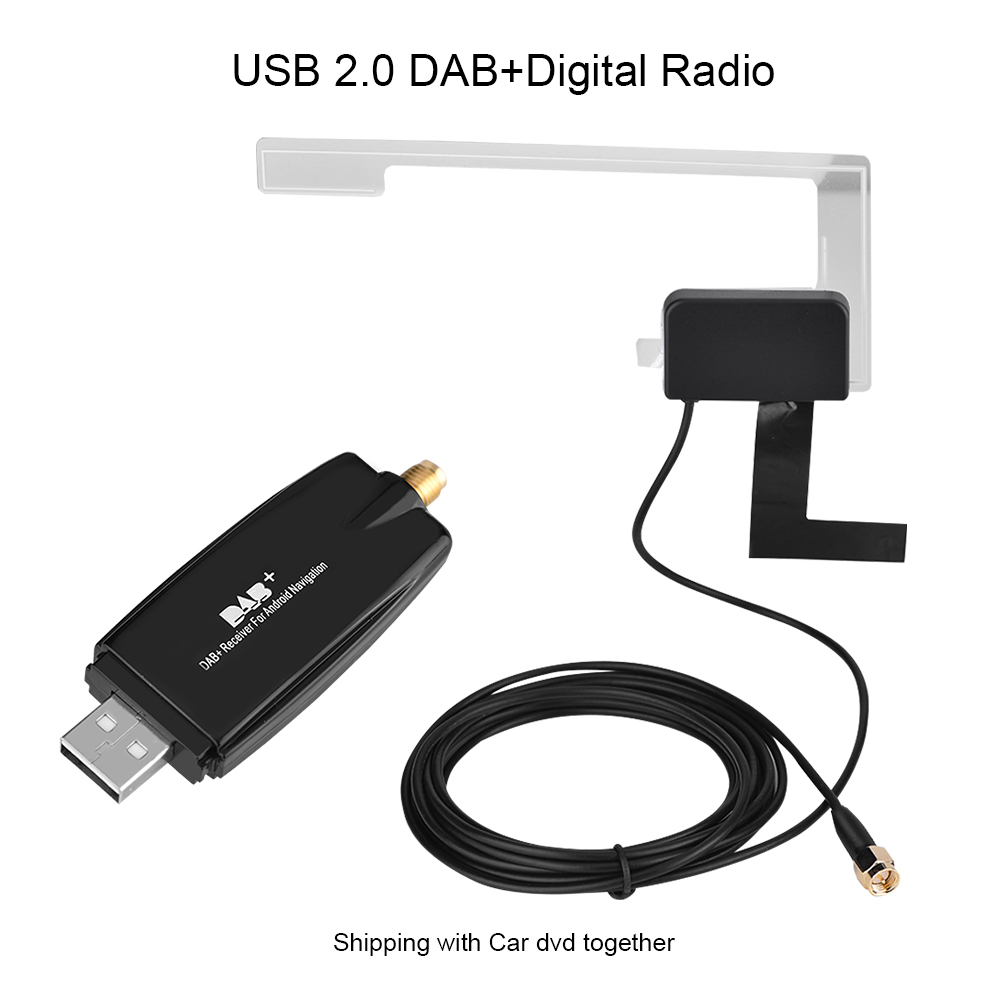 usb dab car receiver adapter radio stereo music tuner stick for android car dvd ebay. Black Bedroom Furniture Sets. Home Design Ideas