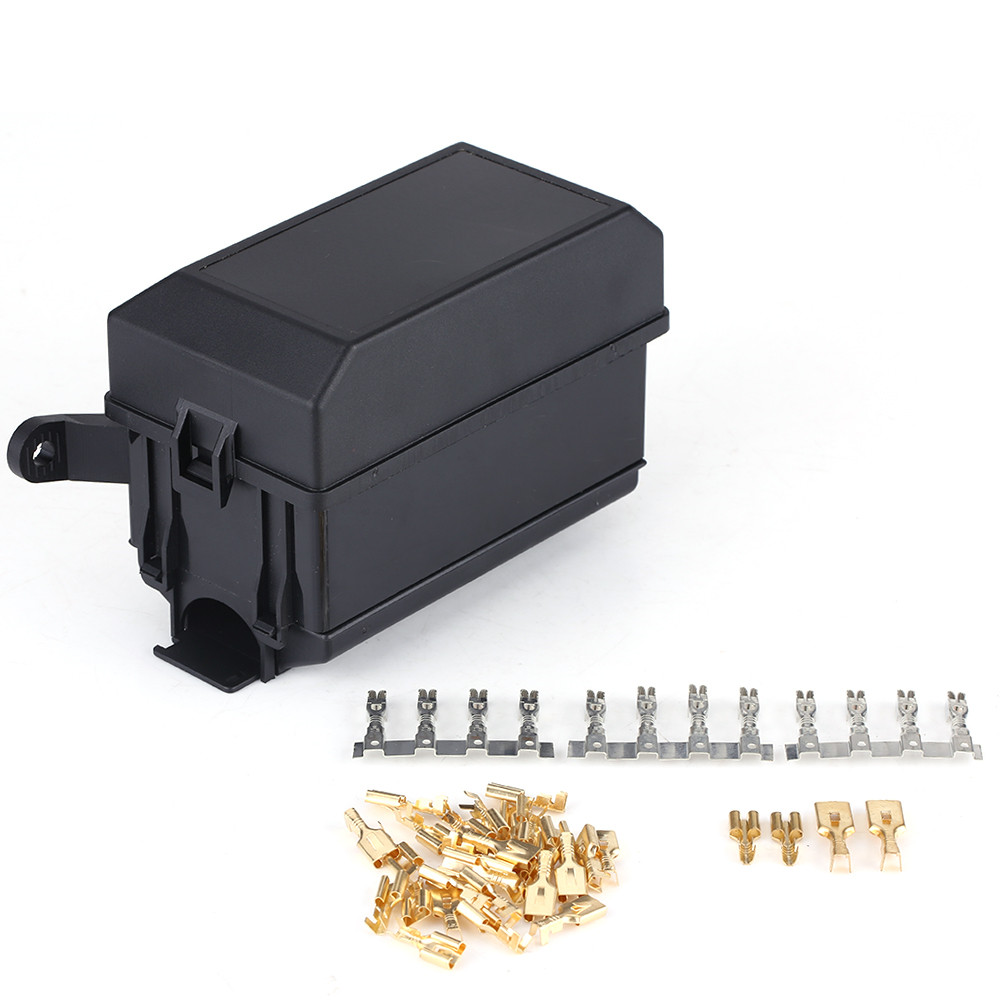 Car Fuse Box Uk : Universal auto car truck way fuse relay holder box