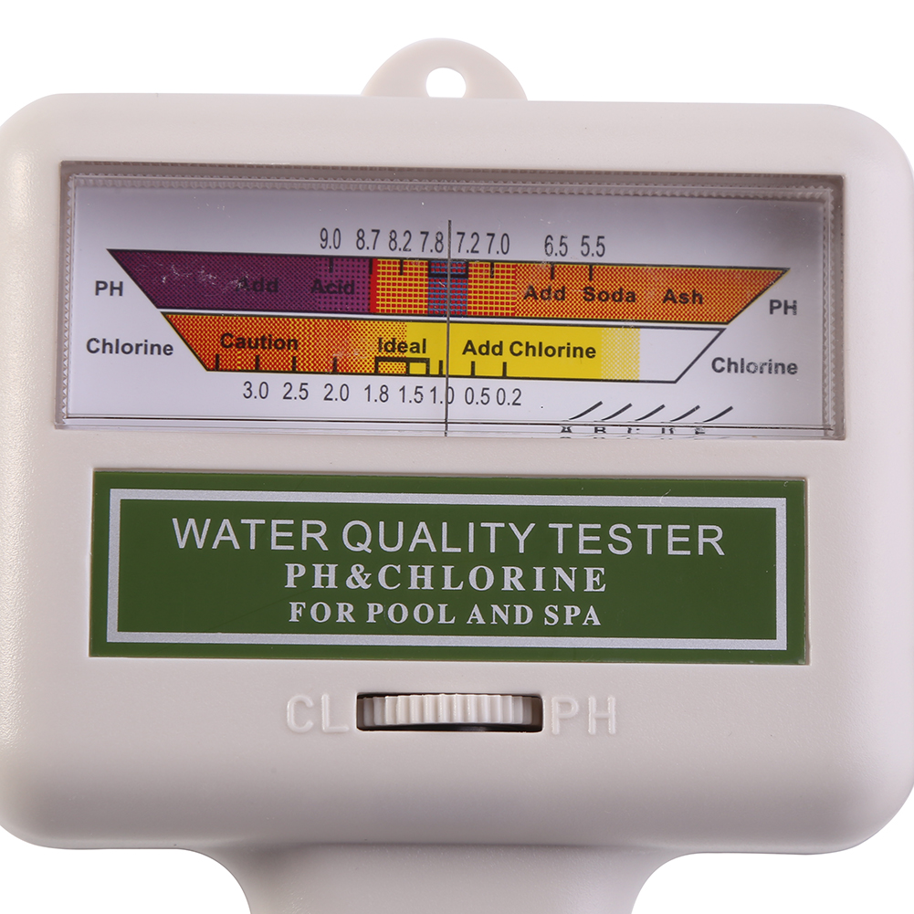 Swimming Pool Spa Ph Cl2 Chlorine Level Meter Water Quality Tester Monitor New E Ebay