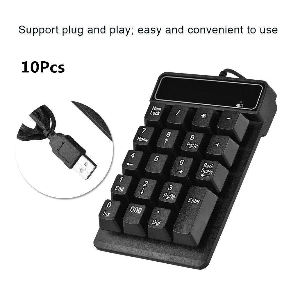 USB-Mechanical-Numeric-Keypad-Pad-Numpad-19Key-Keyboard-for-Laptop-Desktop-PC-GM