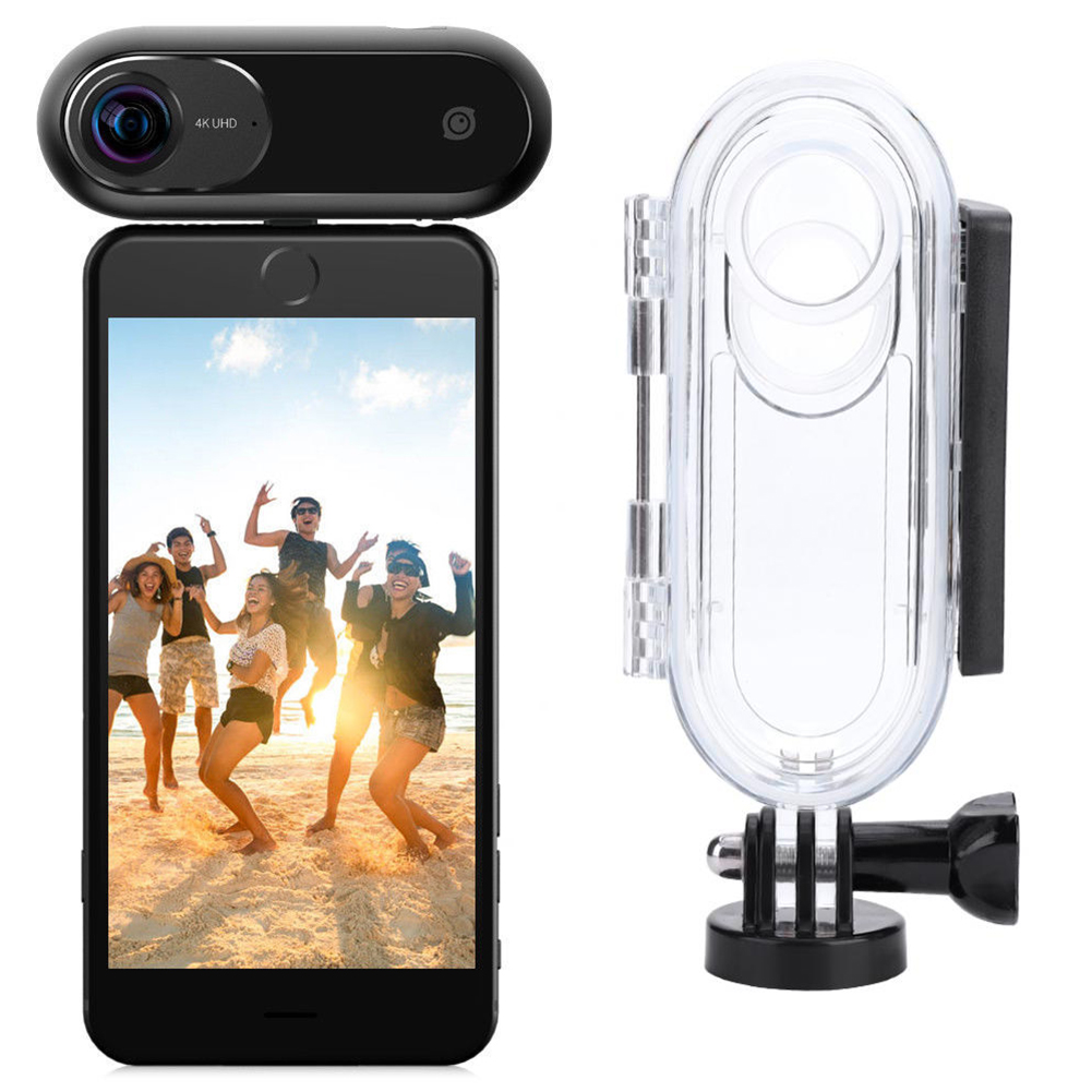 Insta360-ONE-4K-360-VR-Video-Sport-Camera-Housing-Case-Remote-Selfie-Stick