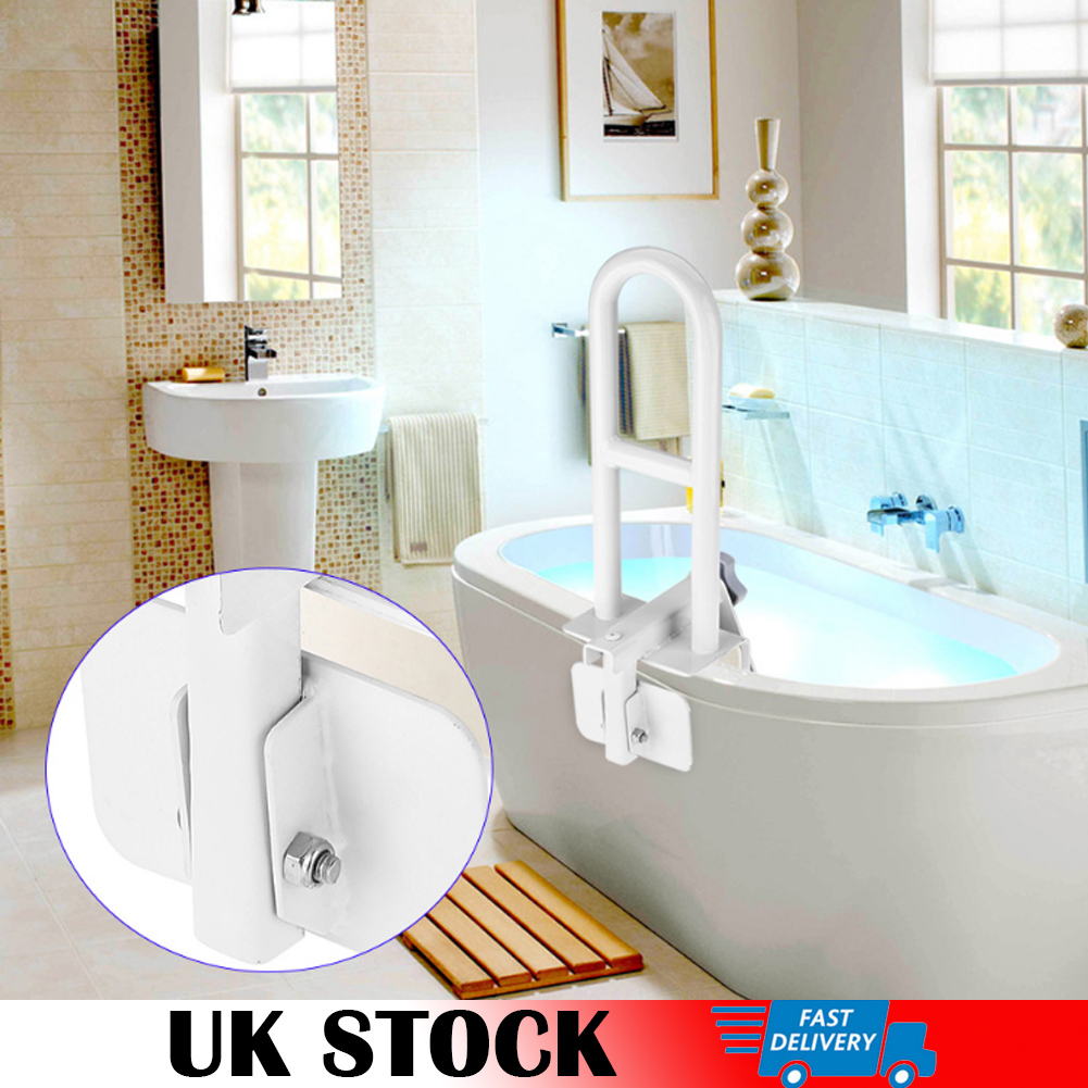 ALLOY BATH GRAB BAR, BATH SAFETY RAIL, BATHROOM SAFETY DISABILITY ...
