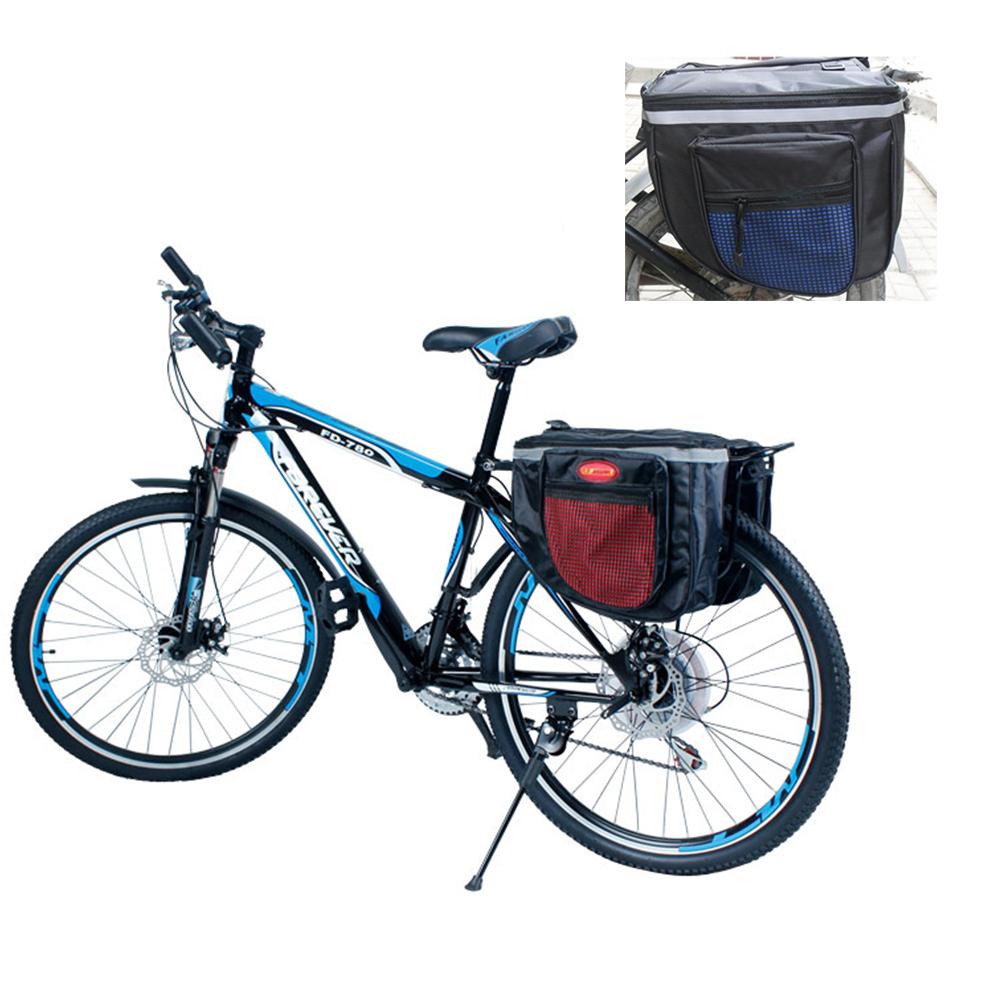neu fahrrad doppeltasche gep cktr ger sattel tasche. Black Bedroom Furniture Sets. Home Design Ideas