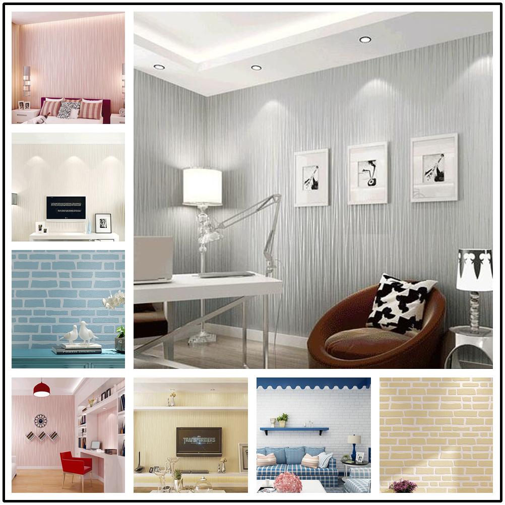 Neu 3D Tapete Wände gestreifte für TV Hintergrund Tapete Zimmer ...