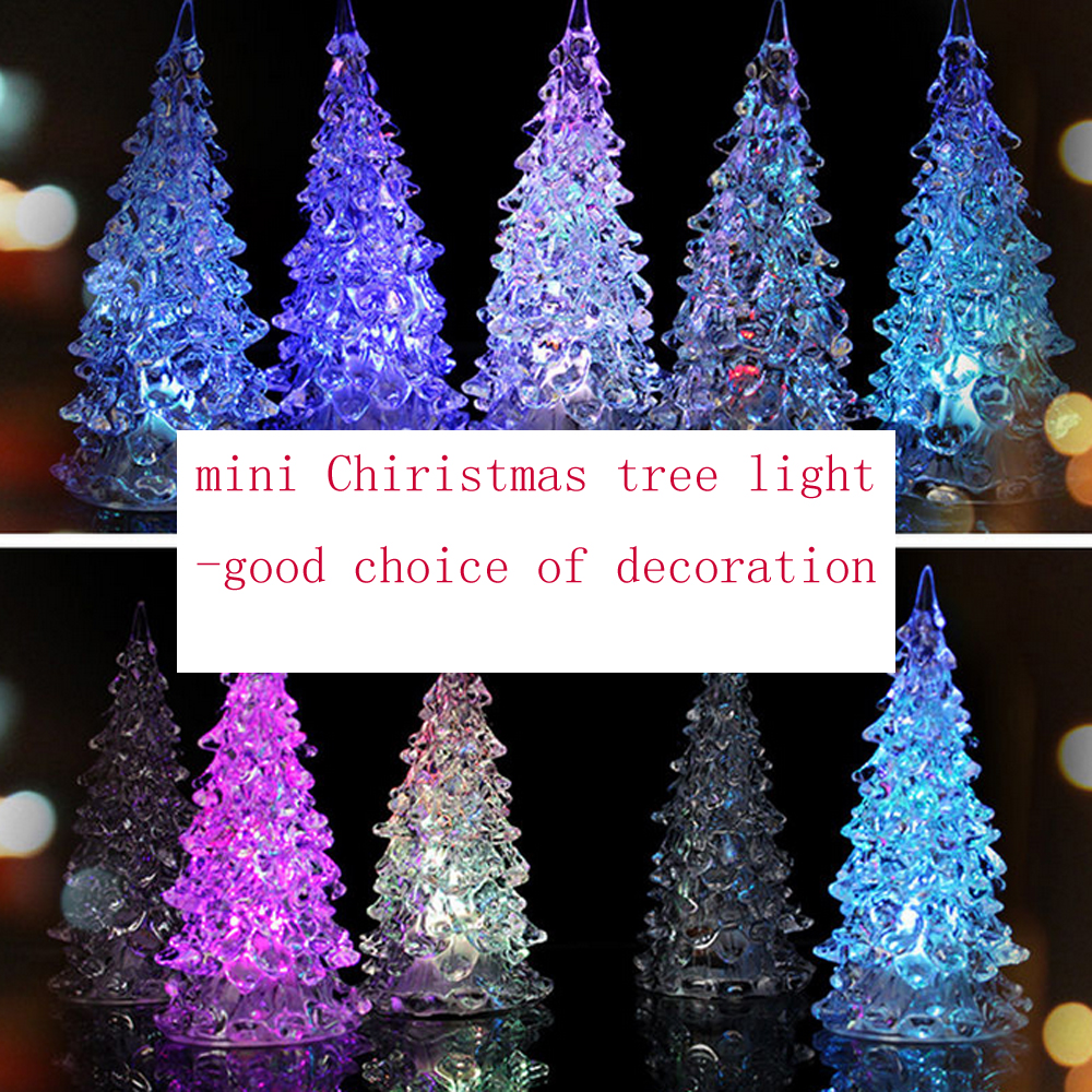 light up acrylic christmas tree ornaments twinkling led christmas decoration uk