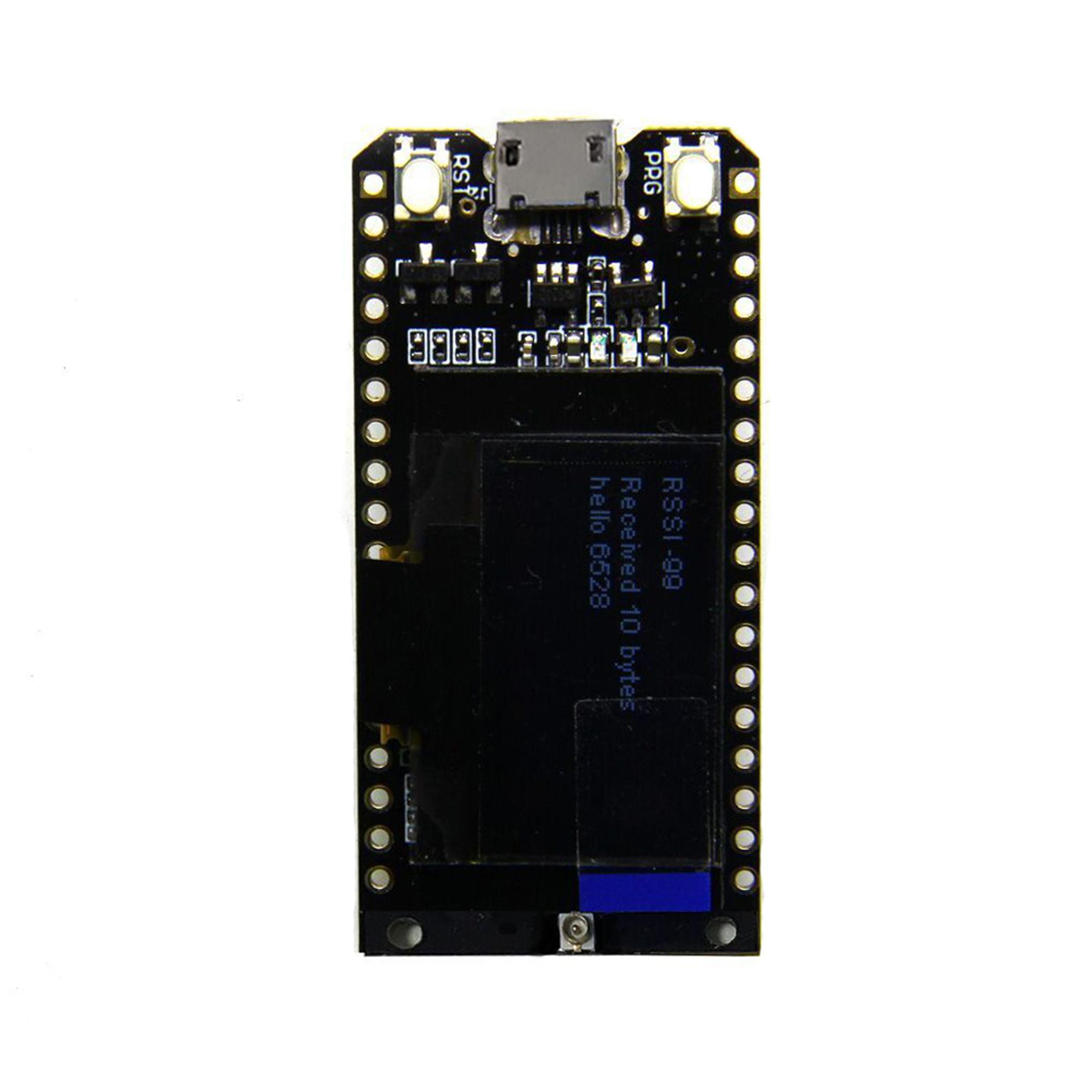 TTGO LORA32 868//915Mhz ESP32 LoRa OLED 0.96/'/' Bluetooth WIFI Antenne L3DE