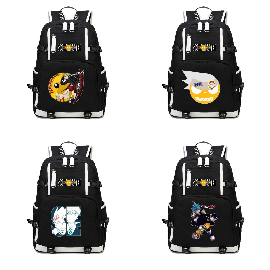 Anime Soul Eater  Backpack School Packsack Laptop Leisure Bags casual Backpack