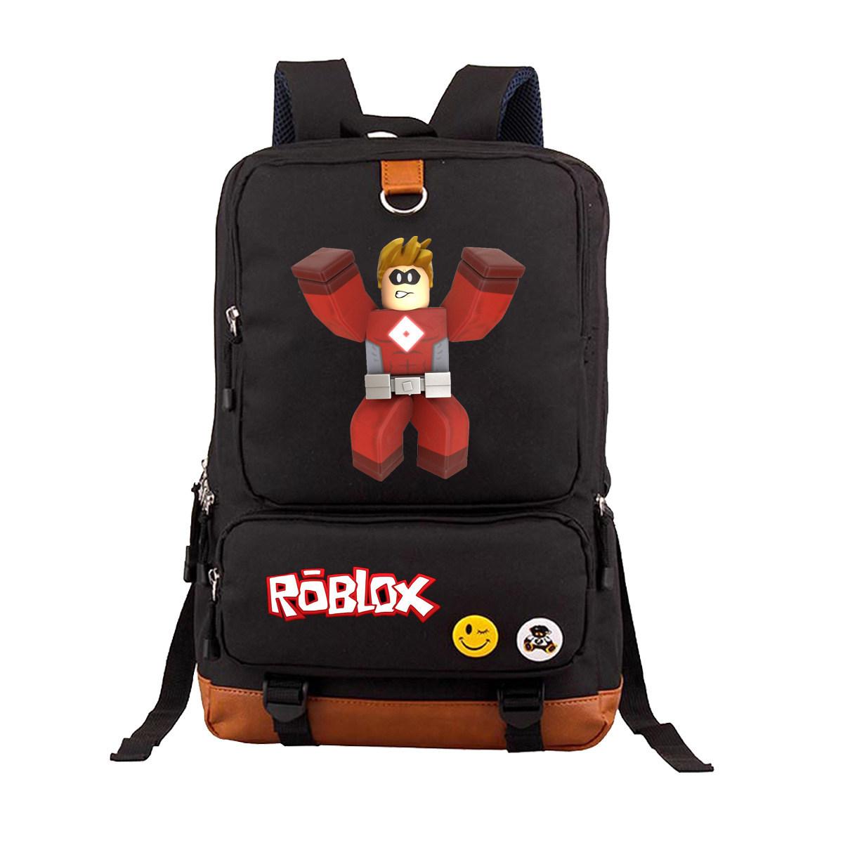 anime game roblox backpack teenage student bookbag women