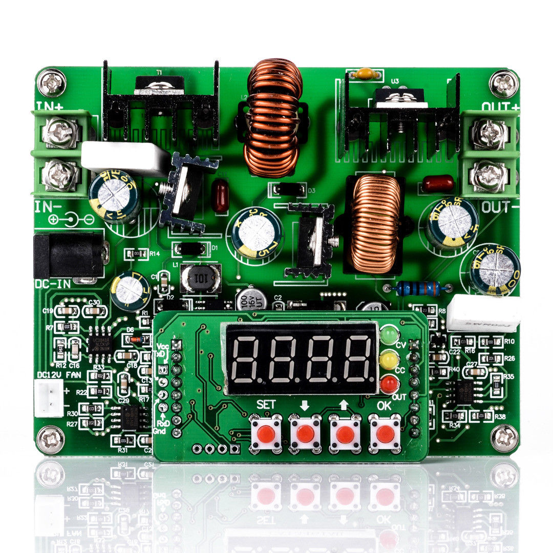 DC-DC-38V-Digital-Step-up-Step-down-Module-Boost-Buck-Converter-Solar-Charging thumbnail 7