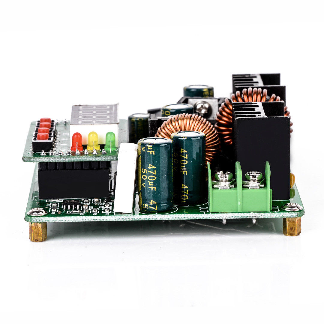 DC-DC-38V-Digital-Step-up-Step-down-Module-Boost-Buck-Converter-Solar-Charging thumbnail 3