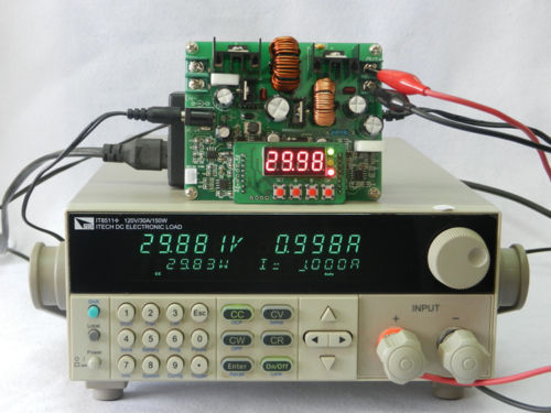 DC-DC-38V-Digital-Step-up-Step-down-Module-Boost-Buck-Converter-Solar-Charging thumbnail 10