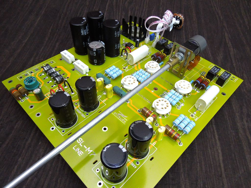 Details about Hi-end Tube Pre-Amplifier Stereo Preamp DIY Kit Hi-Fi Veteran  Version Kondo-M7