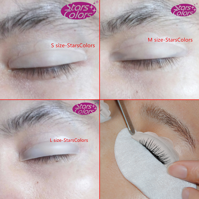 Details About 3 Size Makeup False Lash Lift Curling Shield Recycling Silicone Eyelash Perm Rod