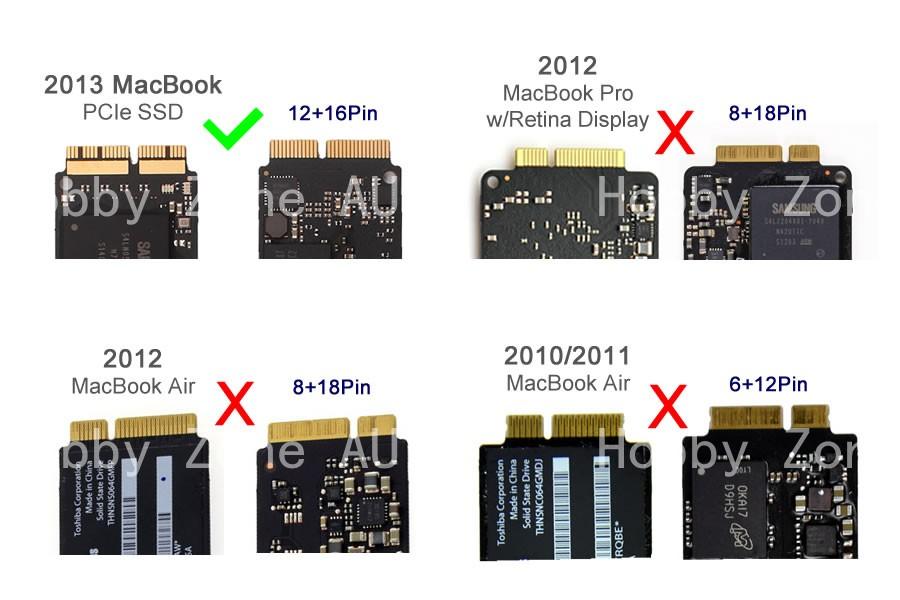 Toshiba hard drive ssd macbook air 13.3