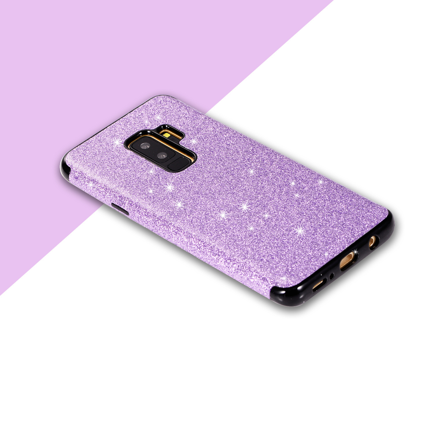 for samsung galaxy s9 plus 2018 fashion bling glitter girl. Black Bedroom Furniture Sets. Home Design Ideas
