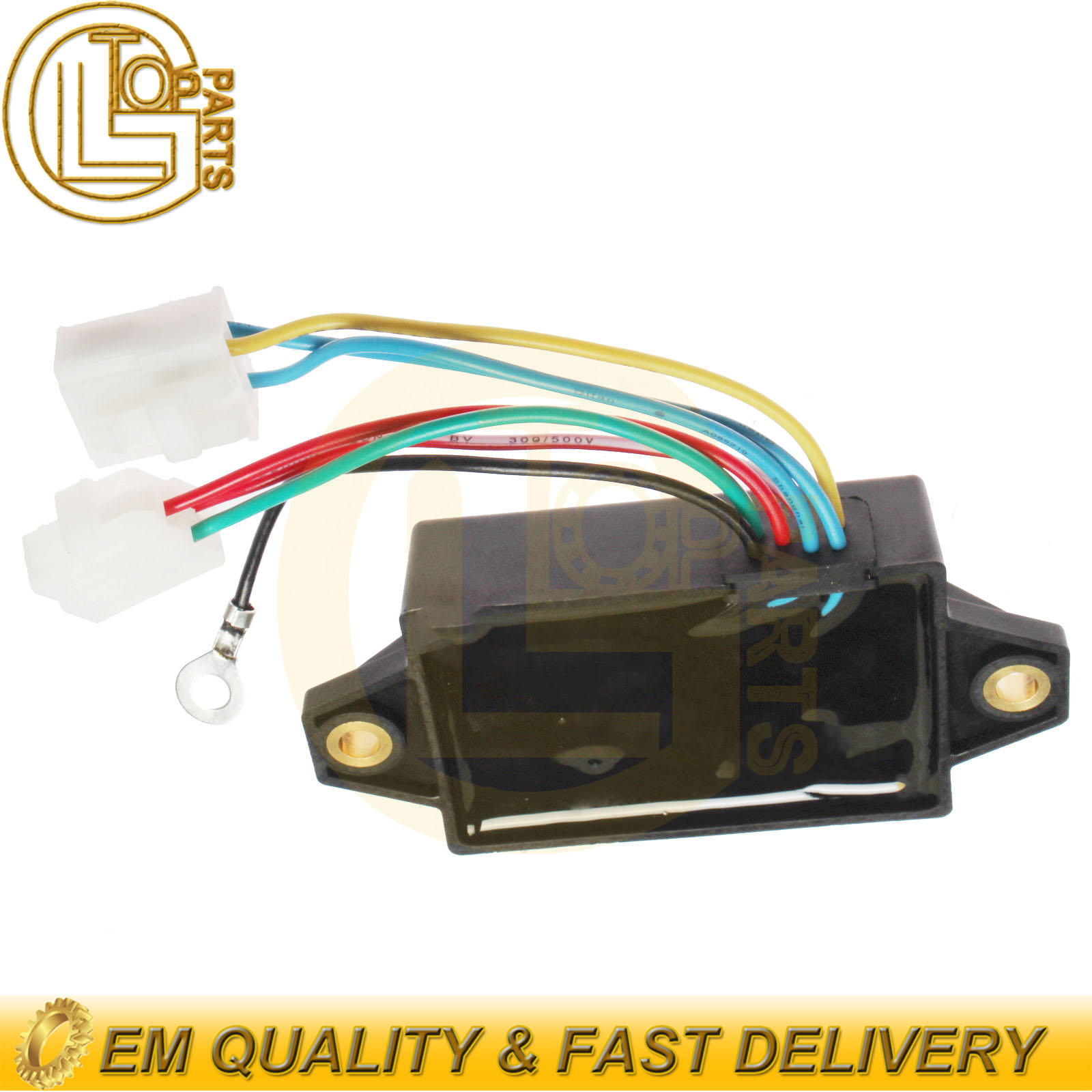 details about new automatic voltage regulator avr mm409675 for mitsubishi k3b diesel engine Triumph Voltage Regulator Wiring
