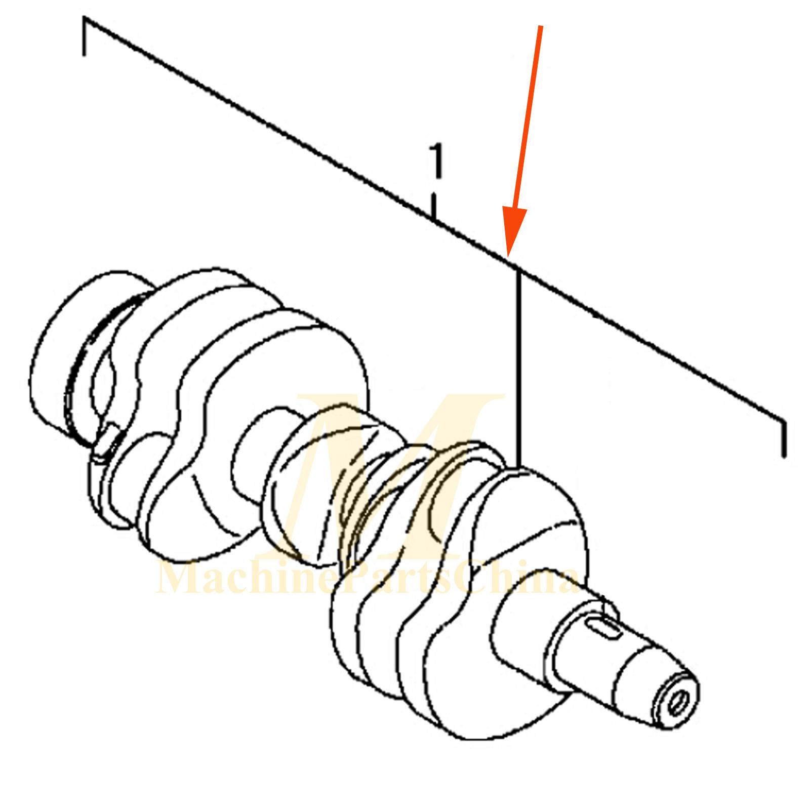 3tne84 3tne84c crankshaft for yanmar engine kobelco sk30ur sk030 Dvd Wiring Diagram 3tne84 3tne84c crankshaft for yanmar engine kobelco sk30ur sk030 sk035 excavator