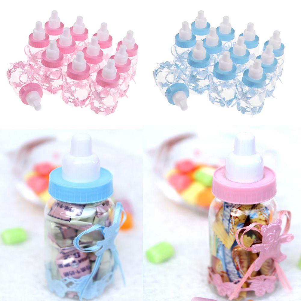 12 stk babyflaschen gastgeschenke milchflasche taufe