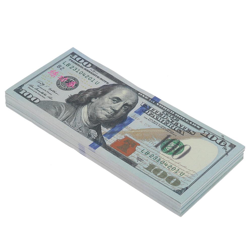 100 Bills Best Novelty Movie Prop Play Fake Money Joke ...