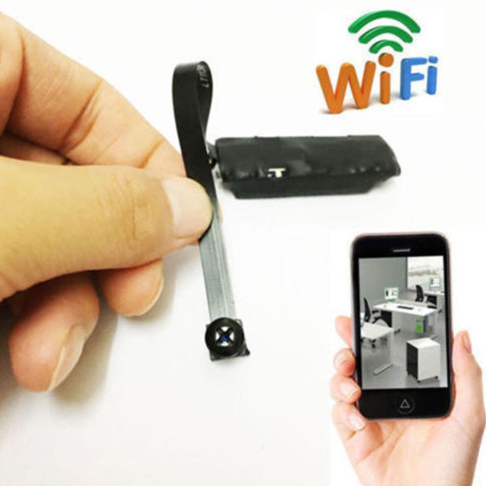 Spy Nanny Cam Wireless Wifi Ip Pinhole Diy Small Screw Camera Mini Micro Dvr