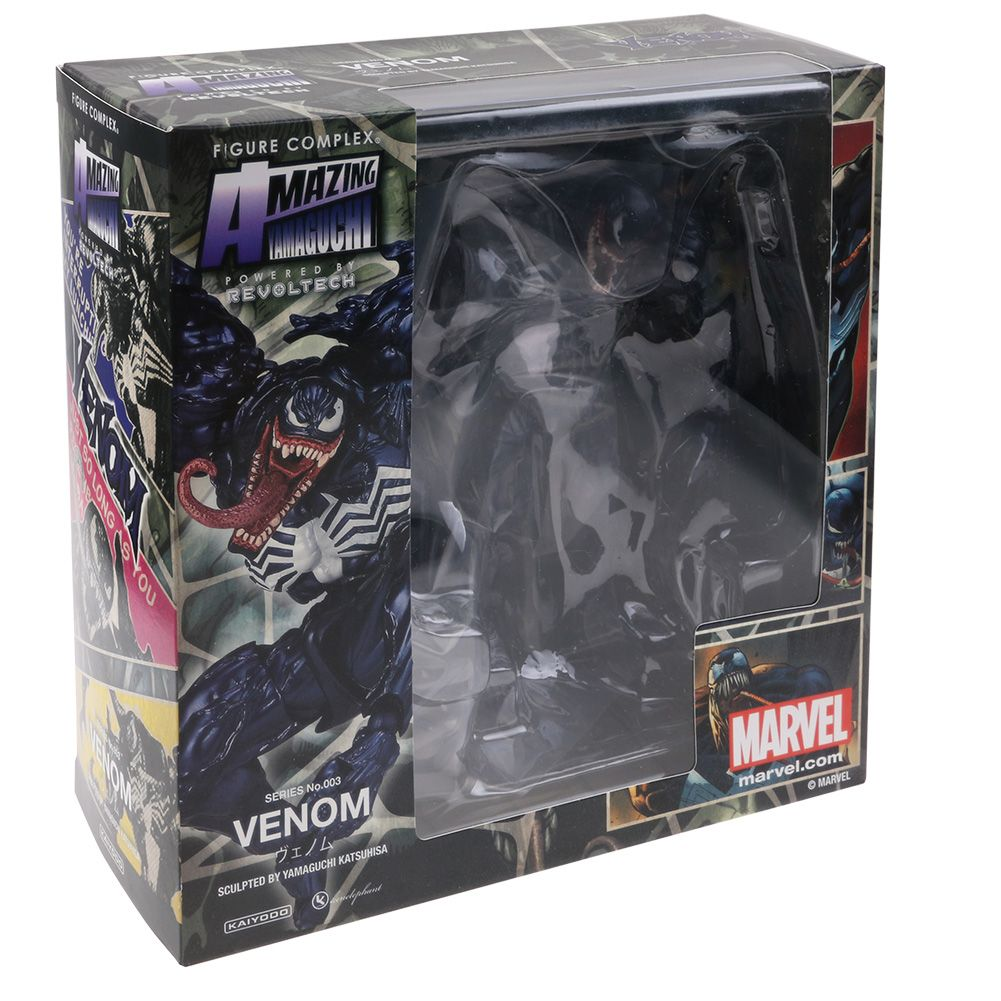Toys For 6 : Quot venom revoltech marvel spider man pvc action figure