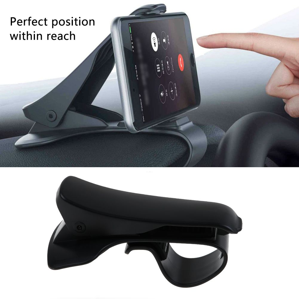 support t l phone voiture auto holder clip universel pr apple samsung gps 6 5 39 39 ebay. Black Bedroom Furniture Sets. Home Design Ideas