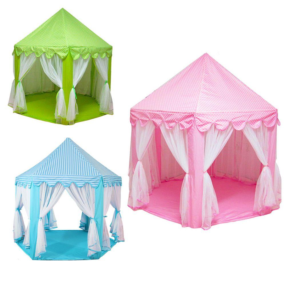 Boy Tent Toy : Children kids play castle tent fairy princess girls boys