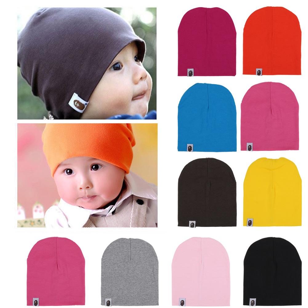 47f6ce5e8e5 Details about Unisex Baby Cap Beanie Boy Girl Toddler Infant Children Cotton  Soft Cute Hat US