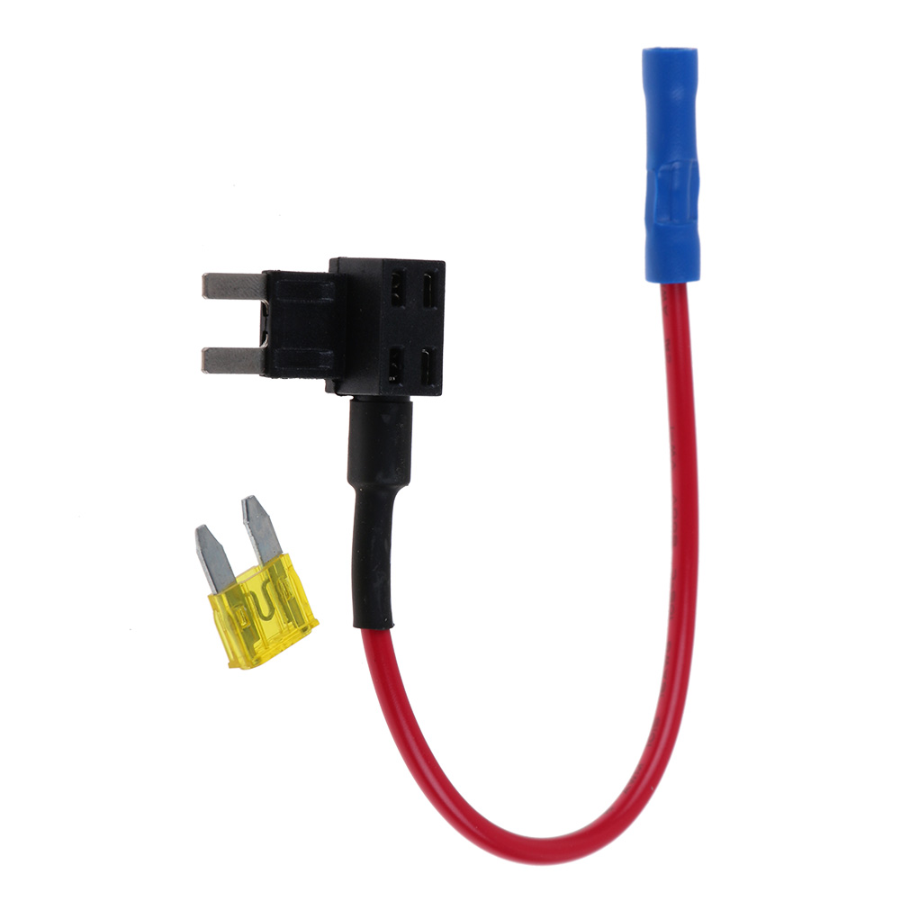 Add A Circuit Car Atm Mini Fuse Tap Dual Adapter Holder 20a Blade Apm 12v 1 X Free Acelectronic 11