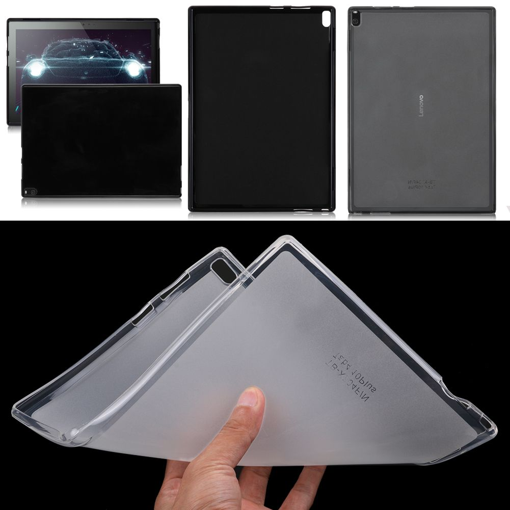 sports shoes 23769 96dfd Details about Soft Silicone TPU Protective Case Cover For Lenovo Tab 4 8  /Tab 4 10 Plus Tablet