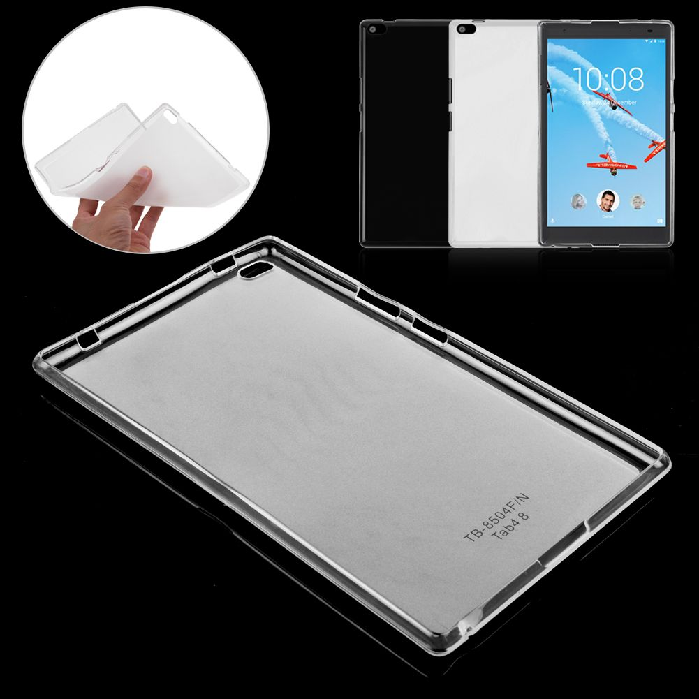 sports shoes dbcba 2929e Details about Soft Silicone TPU Protective Case Cover For Lenovo Tab 4 8  /Tab 4 10 Plus Tablet