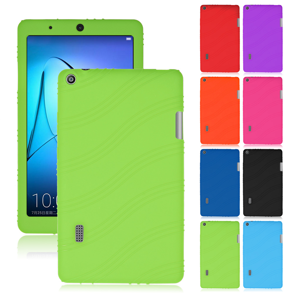 super popular 6b0fb eb121 Details about Silicone Rubber Soft Cases Cover Skin For Huawei MediaPad T3  7.0 7