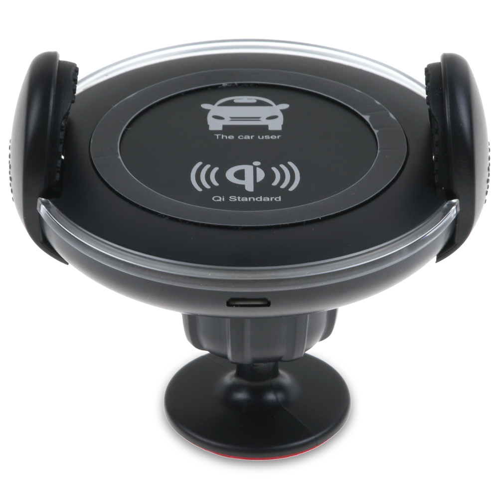 qi wireless auto kfz ladeger t l ftung halterung f r iphone 8 plus x samsung s8 ebay. Black Bedroom Furniture Sets. Home Design Ideas