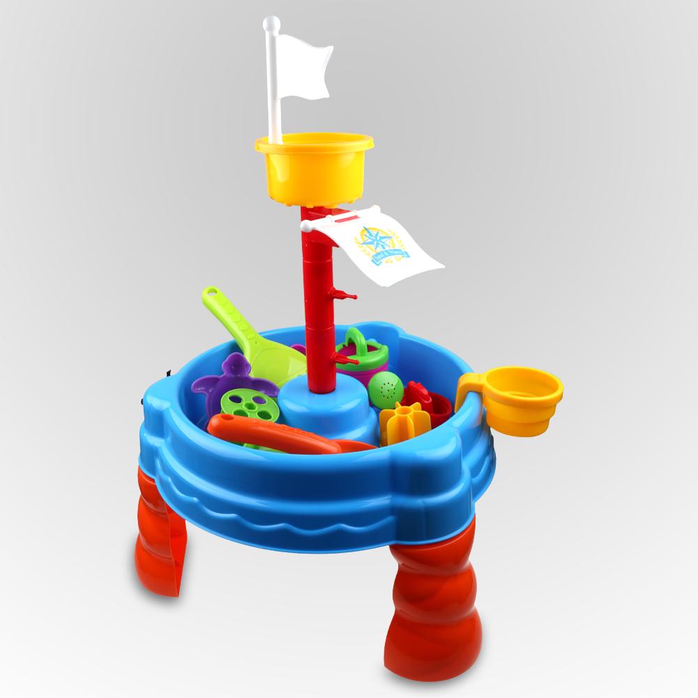 kinder sand wasser aktivit t kind spielen tisch im freien. Black Bedroom Furniture Sets. Home Design Ideas