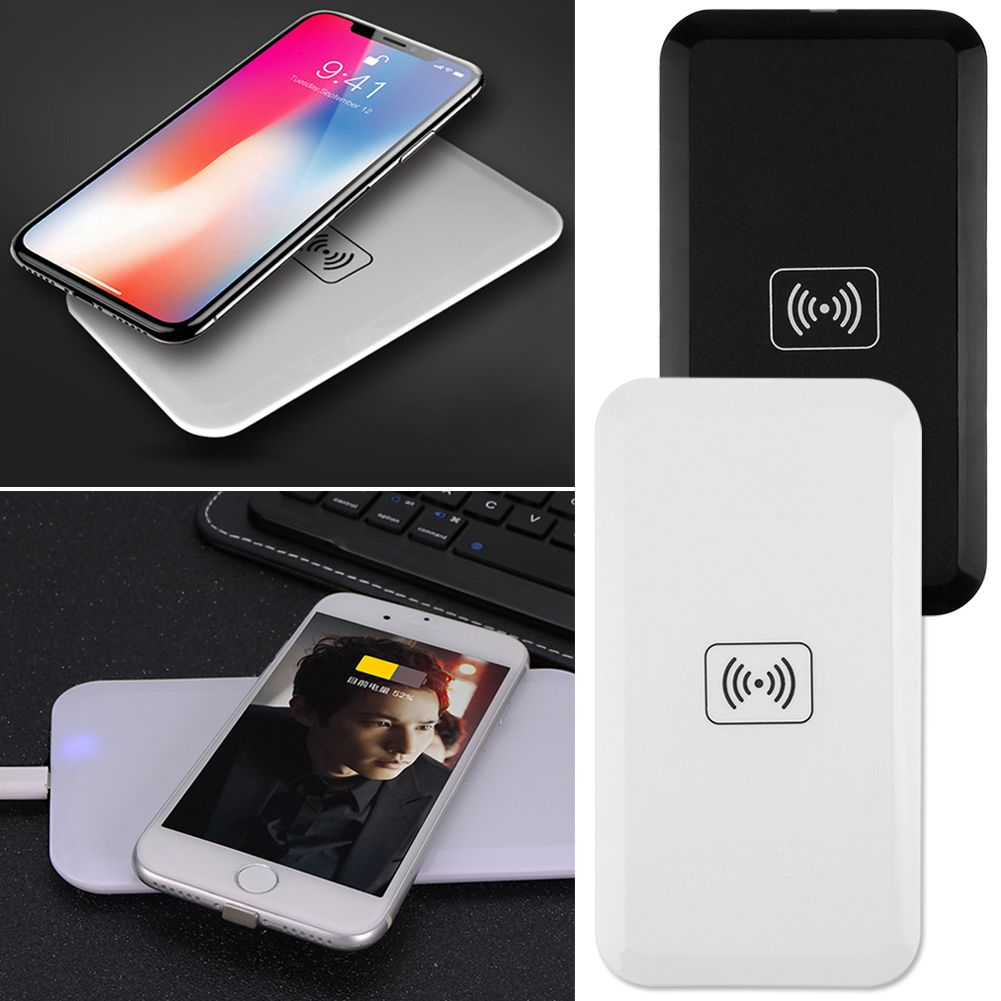 chargeur sans fil universel induction qi wireless charger pr iphone samsung ebay. Black Bedroom Furniture Sets. Home Design Ideas