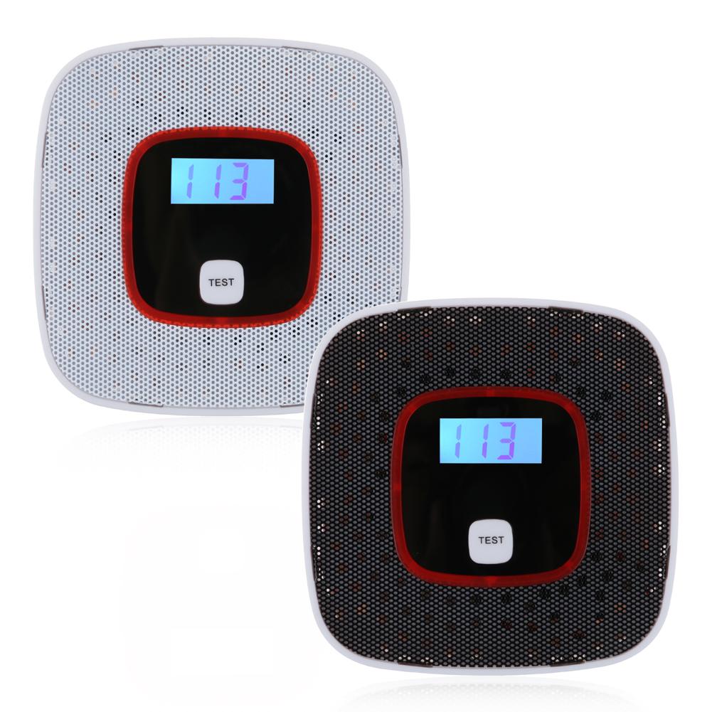 lcd digital d tecteur capteur monoxyde de carbone gaz co alarme carbon monoxide ebay. Black Bedroom Furniture Sets. Home Design Ideas