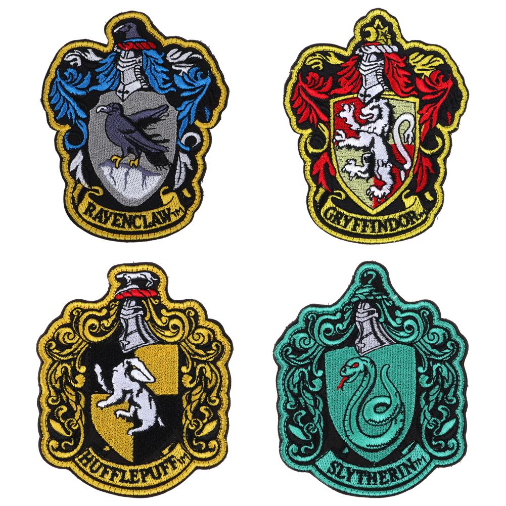 Harry potter patch badge gryffindor slytherin ravenclaw - Gryffindor crest high resolution ...