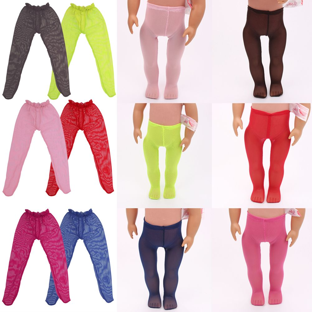"""Doll Tights Clothes for 18"""" American Girl Doll Clothes"""