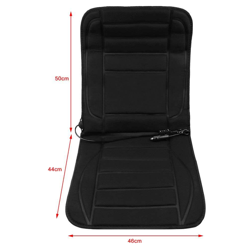 12v Car Seat Heater Thickening Heated Pad Cushion Winter: Universal Car SUV Heated Seat Chair Cushion Cover Heater